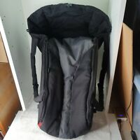 Phil and Teds cocoon - black / Grey carrycot Newborn