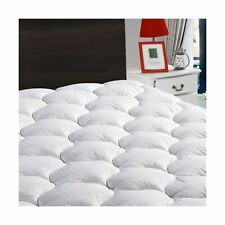 LEISURE TOWN King Mattress Pad Cover Cooling Mattress Topper Cotton Top Pillo...