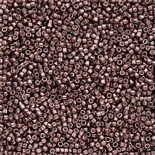Toho Treasure Size 11/0 Seed Beads Galvanised Mauve TT-01-556 7.8g (Q78/7)