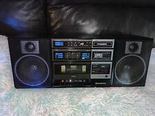 Vintage 1985 Boombox!  SANYO C12 AM/FM Cassette W/ Detachable Speakers
