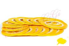 1mm STRIPING TAPE NAIL ART - LINE STICKER ROLL - Yellow