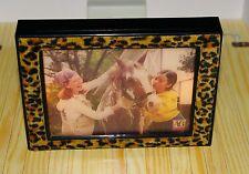 Dollhouse Miniature LIGHT UP TV Cheetah Leopard American Girl LOFT ILLUMA ROOM