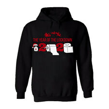 Funny Christmas Hoodie Isolation Social Distancing Merry Quarantine Novelty Top