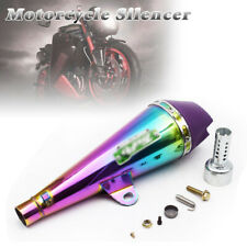 Universal Motorcycle Exhaust Muffler Baffle Tail Pipe Loud Sound Fried Street (Fits: Bourget's Bike Works)
