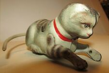 Gatto in latta made in Germany tin toys cat