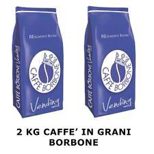 2x Caffè in Grani Miscela Blu - Confezione da 1Kg - Caffè Borbone