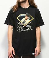 Diamond Supply Co x Michael Jackson Thriller Short Sleeve Black T-Shirt MJ NWT
