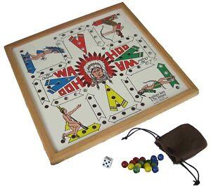 The Original Wa Hoo Board Game- WAHOO!! Made in USA w/Marbles, Dice, and Poke