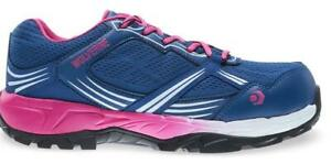 Wolverine Rush ESD CarbonMax Safety Toe Shoe Women 5 Navy/Pink