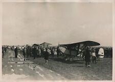 Champ d'Aviation de la Brayelle c. 1930 - Avions de Touriste Anglais - PRM 427
