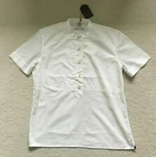 Paul Smith RED EAR  Grandad collar White  T shirt