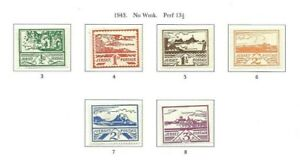 Jersey 1943 Occupation set mint
