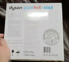Dyson Hp01 Pure Hot and Cool Desk Purifier - Iron Silver