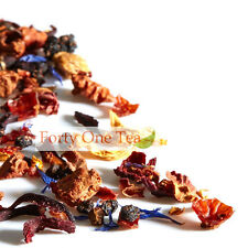 Natural Herbal & Fruit Tisane Loose Leaf Tea - hints of Strawberry & Raspberry