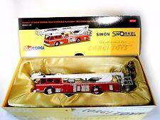 DENNIS F125 SIMON SNORKEL SS263 FIRE RESCUE CORGI ANI3009 1:50 RARE VINTAGE MIB