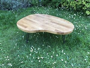REDUCED Solid Oak Coffee Table 59cm X 81cm