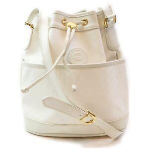 Gucci Shoulder Bag  Whites PVC 1006853