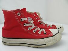 Converse All Star Chuck Taylor Red High Top Shoes Size Men's 4 Women's 6 m9621