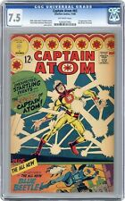 Captain Atom #83 CGC 7.5 1966 1205357002 1st app. Ted Kord second Blue Beetle