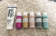 Acrylic Paint Bundle, Pastel Colors 59ml