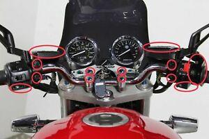 Yamaha XJR1300 99-03 Handlebar & Surrounds Stainless Steel Screws Set Bolts UK