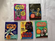 1977 Star Wars Series 3 Yellow Single Card # 174 NM straight from a wax Pack