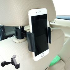 360° Ratating Car Back Seat Headrest Phone Mount Holder Stand For GPS Cell Phone
