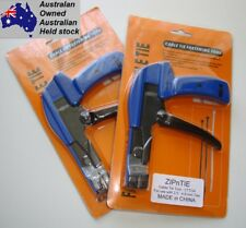 Cable Tie Zip Tie Tool - Sturdy Metal Construction Tension & Cuts 2.5-4.8mm ties