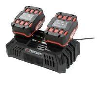 Parkside Dual Quick Battery Charger 20V PDSLG 20 A1 / 2 x 4.5A / BARE UNIT