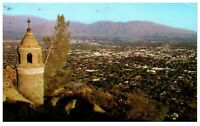 View From Mt. Rubidoux Riverside California Postcard PC1328