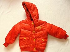 ROCAWEAR GIRLS JUNIOR DOWNS FEATHER HOODED WINTER JACKET = SIZE 5M