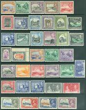 EDW1949SELL : CYPRUS 1934-44 Scott #125-55 Complete. All Very Fine, MOG Cat $395