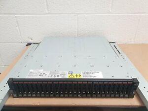 IBM V3700 28.8TB (24x 1.2TB 10K 6G SAS) 1G iSCSI 8G Fibre Channel SAN Array