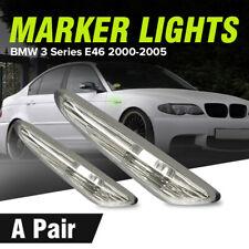Pair Side Marker Light Turn Indicator Lamp BMW E46 E60 E61 E83 X3 3 Series