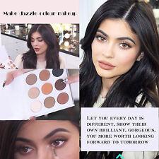 Charming 9 Color Matte Eyeshadow Palette Cosmetic Makeup Eye Shadow Tool Set New