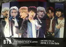 2017 BTS LIVE THE WINGS TOUR SPECIAL EDITION Taiwan Promo folded Poster