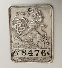 Vintage Charge Plate Tag: Gimbel Brothers Iconic Dept Store; Philadelphia