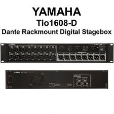 YAMAHA Tio1608-D Dante Rackmount Digital CAT5e I/O Tour Stagebox