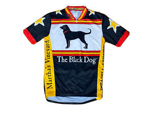 Louis Garneau The Black Dog Martha's Vineyard Men's Cycling Shirt Size S Small