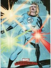 Marvel Masterpieces 2007 Base Card #41 The Invisible Woman