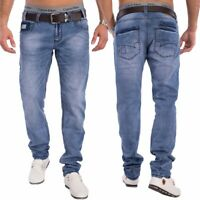 Herren Denim Tapered Jeans Skinny Fit hellblau stretch Hose Nr.1529