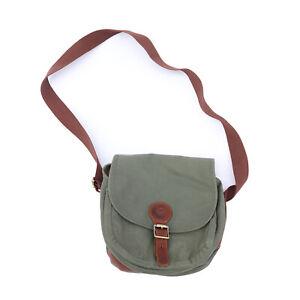 Tourbon Canvas Disc Golf Bag Discs Carrying Storage Shoulder Pack Outdoor Travel