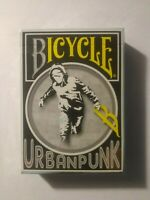 Bicycle Urban Punk Playing Card Deck Rare Limited Edition USPCC New Sealed