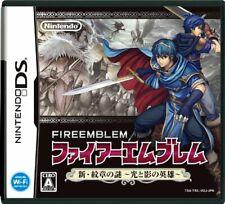 Fire Emblem Shin Monshou no Nazo NDS Nintendo Nintendo DS From Japan