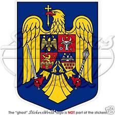 Escudo de Armas Rumania rumano National Emblem Vinilo Pegatina Calcomanía bunper