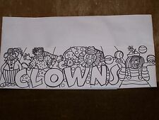 100 Clowns Coloring Hats Party Birthday Event Value!