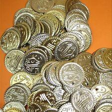 Münzen Gold Bastelmünzen, Bauchtanz Deko Basteln Perlen Metall 20mm 100g