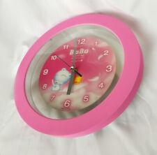 Blue Bear (Ba Bu) Wall Hang Clock (Pink)