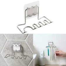 Stainless Steel Wall Mount Toothbrush Holder Storages Razor Organizers A2W7