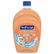 Softsoap Antiseptic Hand Soap Crisp Clean Scent 50 fl oz Refill New And Sealed